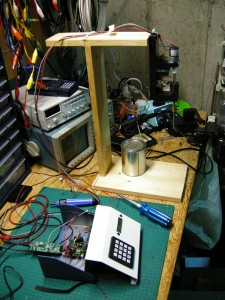 Viscometer and stand
