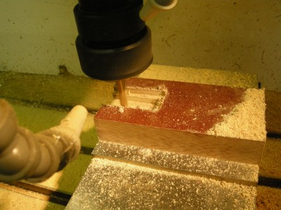 Machining the block