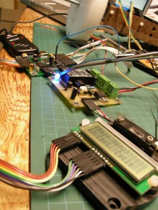 Power and Control and LCD