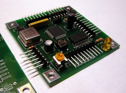 The board, populate with SMD's