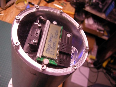 stormer viscometer with cover looking in