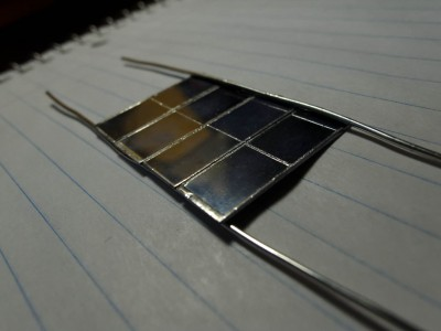 Solar panels together