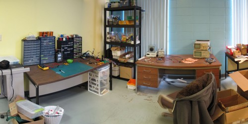 The new lab as of 2011