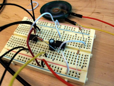 The little sound circuit