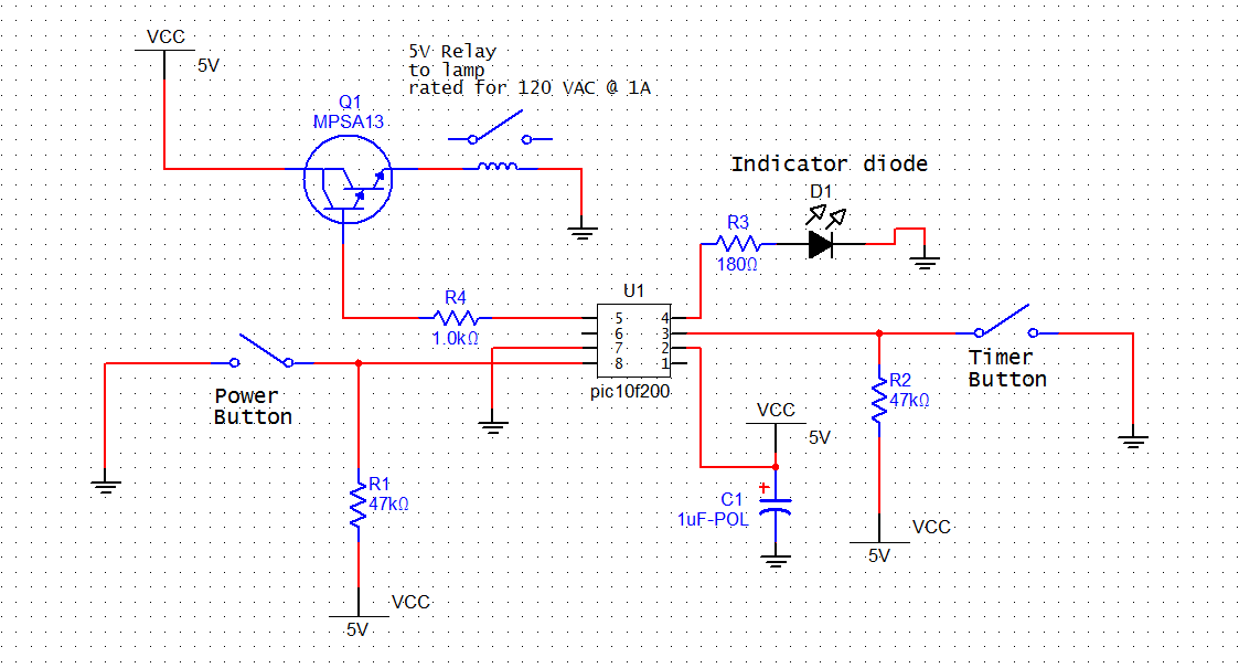 The Timer L  Redux Part One on timer schematic diagram