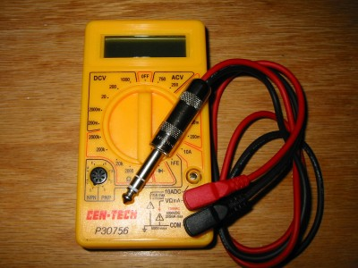Cheap chinese multimeter