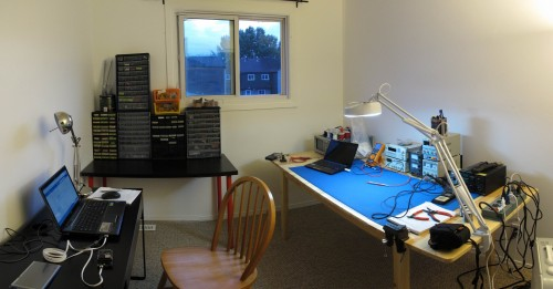 This is my new office for 2013. I have a new computer coming soon.