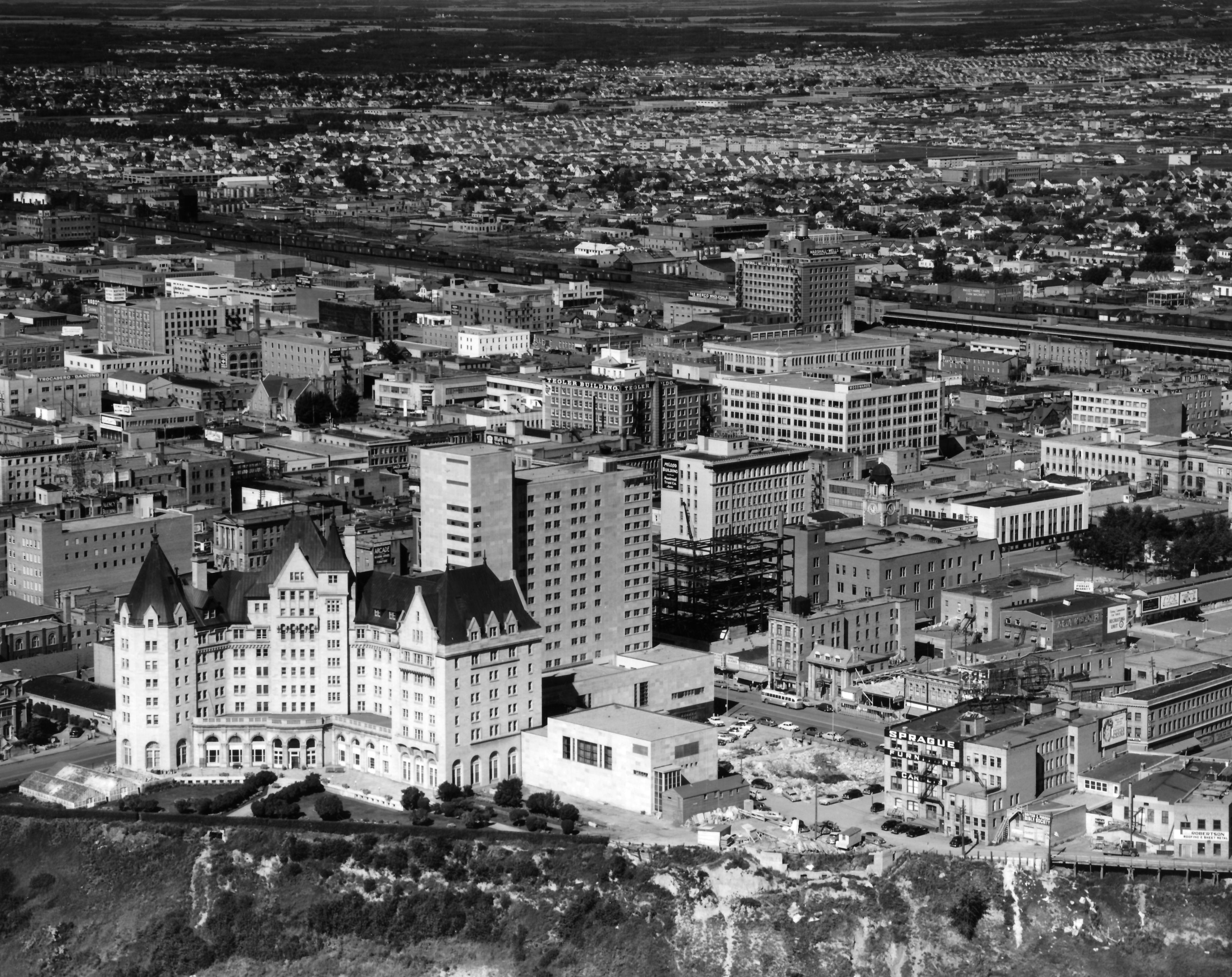 Edmonton Downtown 1959
